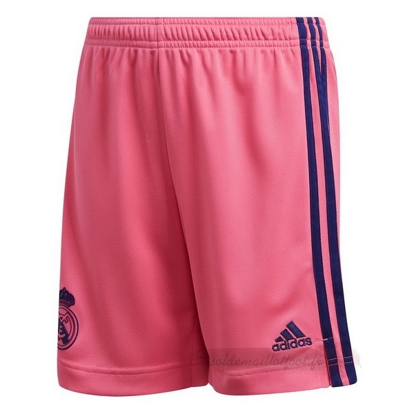 Tee Shirt Foot Pas Cher adidas Exterieur Pantalon Real Madrid 2020 2021 Rose