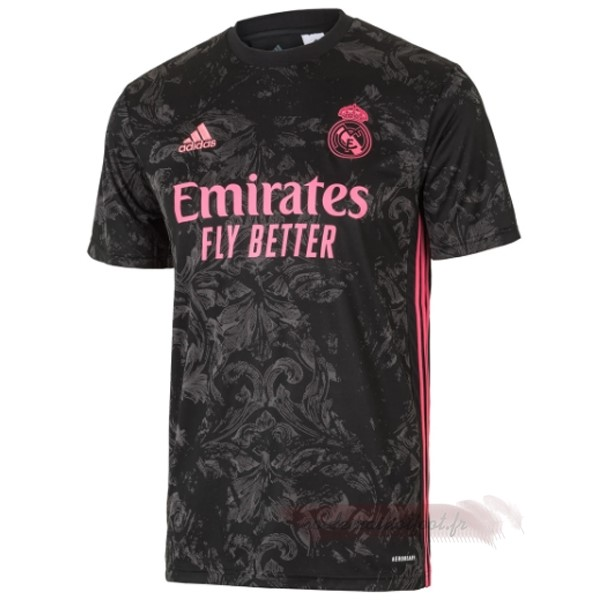 Tee Shirt Foot Pas Cher adidas Third Maillot Real Madrid 2020 2021 Noir