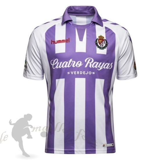 Tee Shirt Foot Pas Cher Hummel Domicile Maillot Real Valladolid 2018 2019 Purpura