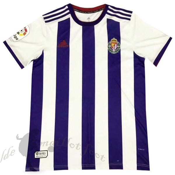 Tee Shirt Foot Pas Cher adidas Domicile Maillot Real Valladolid 2019 2020 Purpura