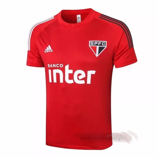 Tee Shirt Foot Pas Cher adidas Entrainement São Paulo 2020 2021 Rouge