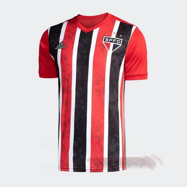 Tee Shirt Foot Pas Cher adidas Exterieur Maillot São Paulo 2020 2021 Rouge