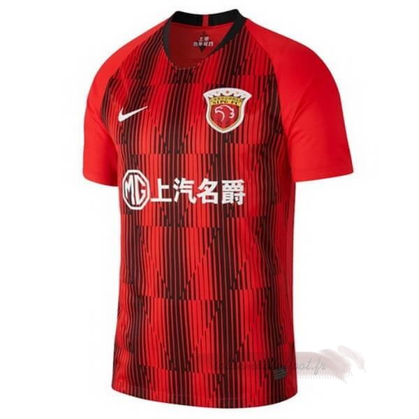 Tee Shirt Foot Pas Cher Nike Domicile Maillot SIPG 2020 2021 Rouge