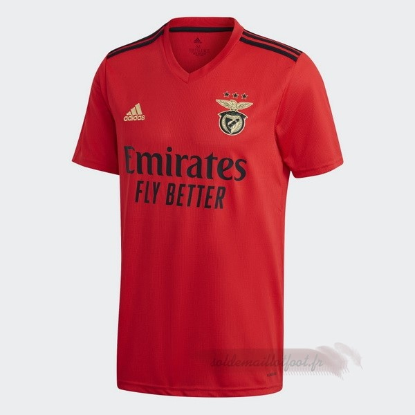Tee Shirt Foot Pas Cher adidas Domicile Maillot Benfica 2020 2021 Rouge