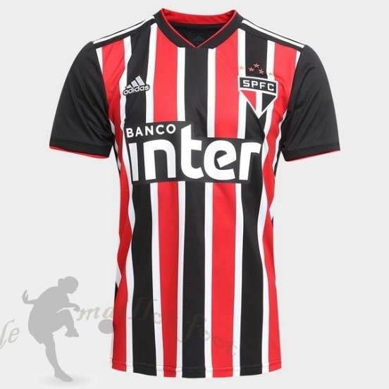 Tee Shirt Foot Pas Cher Adidas Exterieur Maillot São Paulo 2018 2019 Rouge