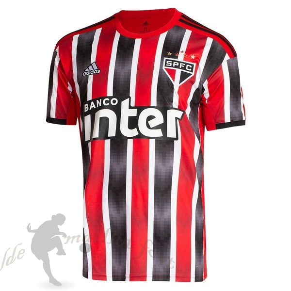 Tee Shirt Foot Pas Cher adidas Exterieur Maillot São Paulo 2019 2020 Rouge