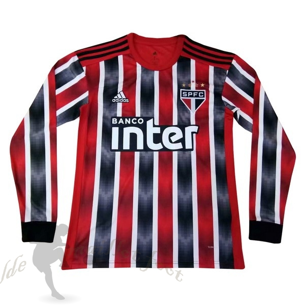 Tee Shirt Foot Pas Cher adidas Exterieur Manches Longues São Paulo 2019 2020 Rouge