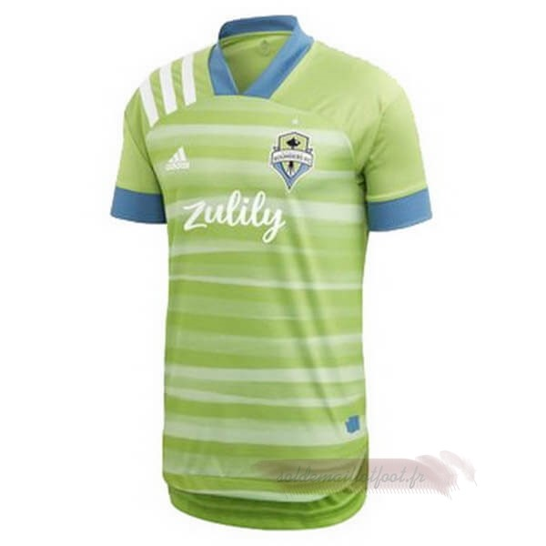 Tee Shirt Foot Pas Cher adidas Domicile Maillot Seattle Sounders 2020 2021 Vert