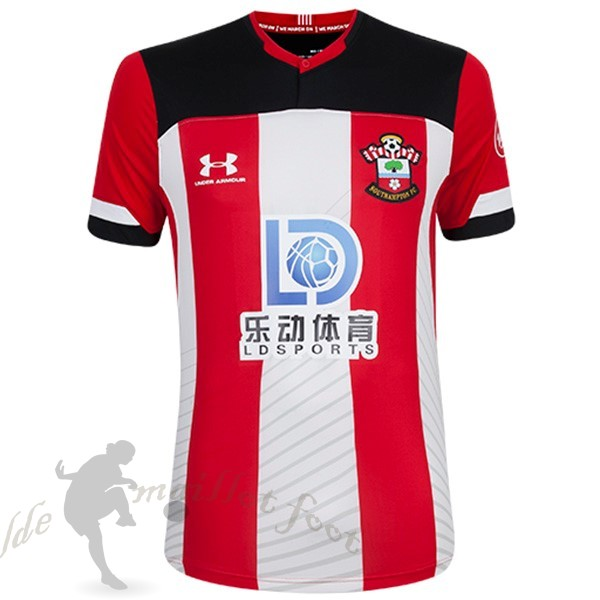 Tee Shirt Foot Pas Cher Under Armour Domicile Maillot Southampton 2019 2020 Rouge Blanc