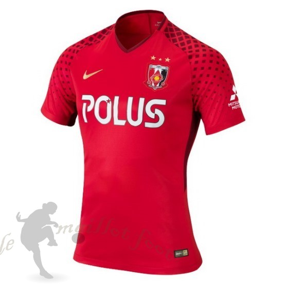 Tee Shirt Foot Pas Cher Nike Domicile Maillot Urawa Red Diamonds 2018 2019 Rouge