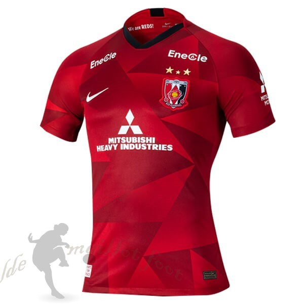 Tee Shirt Foot Pas Cher Nike Domicile Maillot Urawa Red Diamonds 2020 2021 Rouge