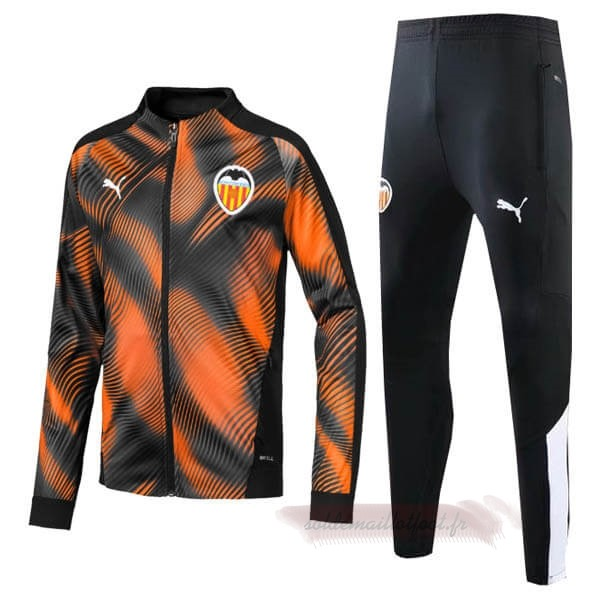 Tee Shirt Foot Pas Cher PUMA Survêtements Valencia 2019 2020 Orange