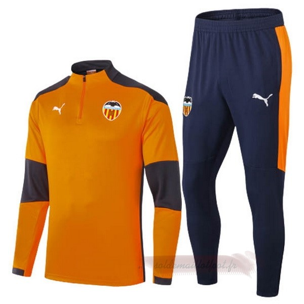 Tee Shirt Foot Pas Cher PUMA Survêtements Valencia 2020 2021 Orange
